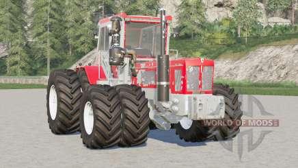Schluter Super-Trac 3000 TVL-LS〡 roues jument configurables pour Farming Simulator 2017