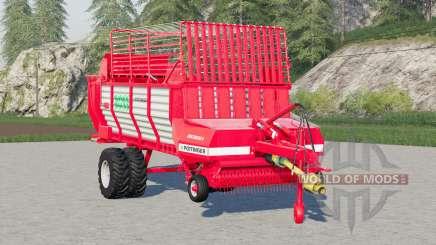 Pottinger Ernteboss 2〡twin pneus en option pour Farming Simulator 2017