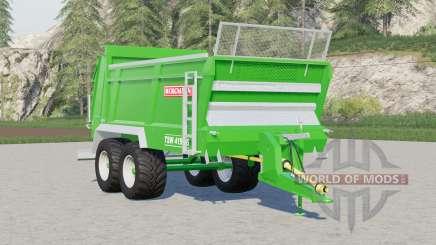 Bergmann TSW 4190 S〡minor behoben und Verbesserungen für Farming Simulator 2017