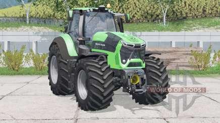 Deutz-Fahr 9340 TTV Agrotron〡Drehzahl erhöht für Farming Simulator 2015