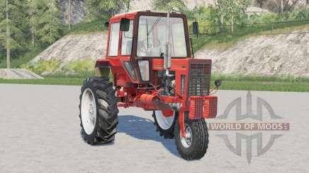MTZ-80X Belarus 41214 options de couleur pour Farming Simulator 2017