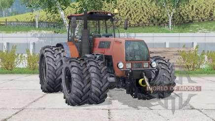 MTZ-2522DV Biélorussie 8 <2> <3> <2> <1> roues sparées pour Farming Simulator 2015