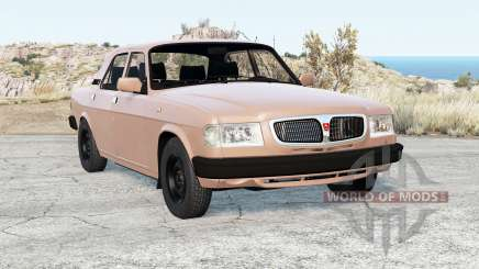 GAZ-3110 Wolga v2.0 für BeamNG Drive