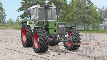 Fendt Favorit 610 LSA Turbomatik E〡 roues sélectionnables pour Farming Simulator 2017
