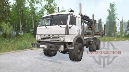 KAMAZ-43114 6x6 pour MudRunner