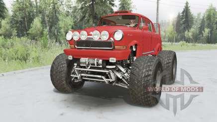 GAZ-21 Monster für Spin Tires