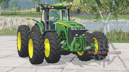 John Deere 8530〡animated direction et joystick pour Farming Simulator 2015