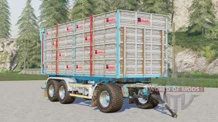 Adurante trailer〡marque de roues sélectionnables pour Farming Simulator 2017