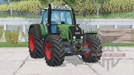 Fendt 716 Vario TMS〡double pneus arrière pour Farming Simulator 2015