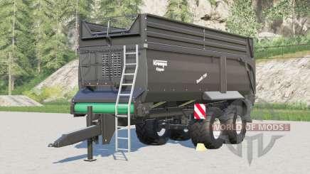 Krampe Bandit 750〡nouvelles configurations de pneus pour Farming Simulator 2017