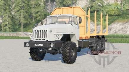 Ural-4320-60 6x6 Sortimentsträger für Farming Simulator 2017