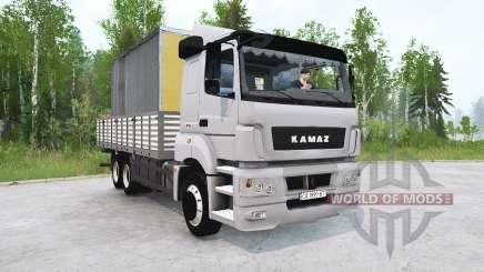 KAMAZ-65207 v4.0 pour MudRunner