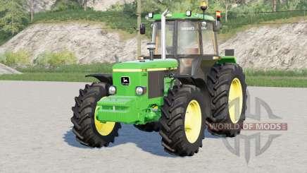 John Deere 3050 series〡exhaust configuration pour Farming Simulator 2017