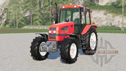 MTZ-1221.4 Biélorussie 41reds pour Farming Simulator 2017