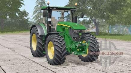 John Deere 6R série〡more puissance réaliste pour Farming Simulator 2017