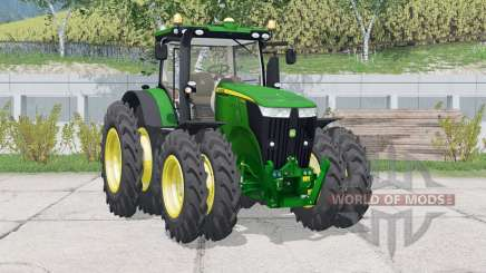 John Deere 7310R〡row Räder für Farming Simulator 2015