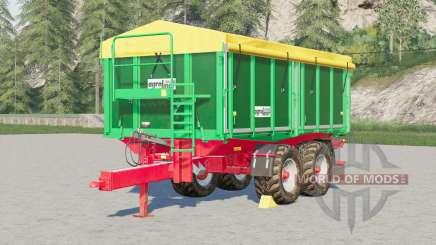 Kroger Agroliner TKD 302〡 pneus configurables pour Farming Simulator 2017