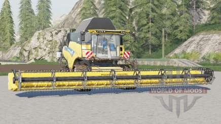 New Holland CR9.90 Revelation〡tank design pour Farming Simulator 2017