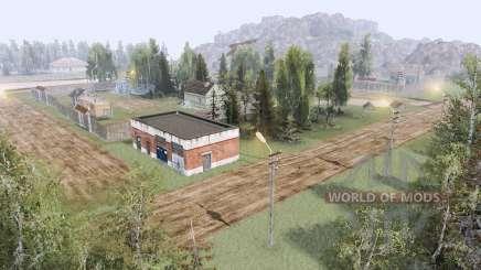 Village dans les montagnes v3.0 pour Spin Tires