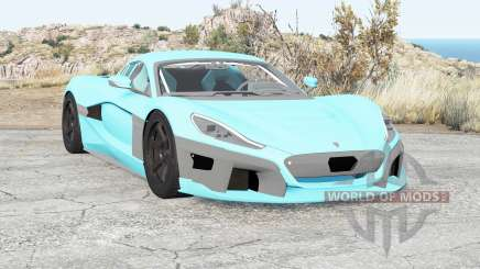 Rimac Concept Two 2018 für BeamNG Drive