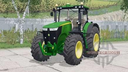John Deere 7310R〡justierbare Spiegel für Farming Simulator 2015