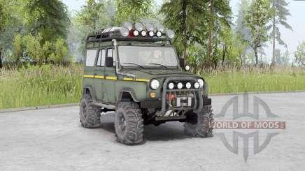 UAZ-31514 v1.5 für Spin Tires