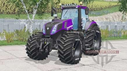 New Holland T8.420〡abtfernbare Reifendruckschläuche für Farming Simulator 2015