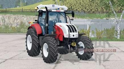 Steyr 6180 CVT〡regulagem do volante für Farming Simulator 2015