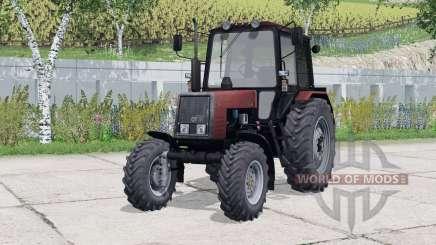 MTZ-820 Biélorussie éléments intérieurs animés pour Farming Simulator 2015