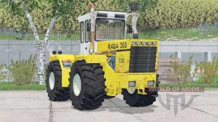 Raba 300 4WD〡 Hinzugefügte Räder für Farming Simulator 2015