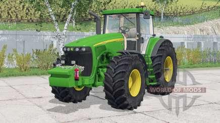 John Deere 8520〡amovable garde-boue avant pour Farming Simulator 2015