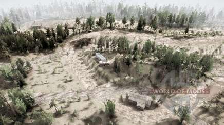 Twin Peaks v1.1 pour MudRunner