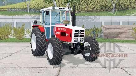Steyr 8130A Turbo〡animierter Wischer für Farming Simulator 2015