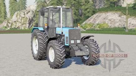 MTZ-892.2 Biélorussie 41214 laisse des traces pour Farming Simulator 2017