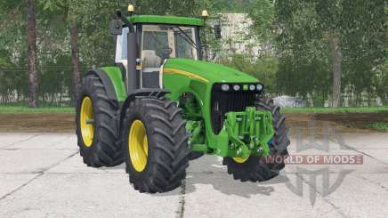 John Deere 8220 〡partieanimée pour Farming Simulator 2015