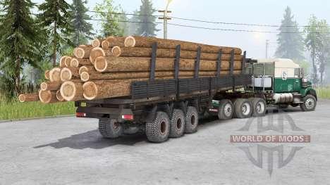 Kenworth T800 8x8 v1.4 pour Spin Tires