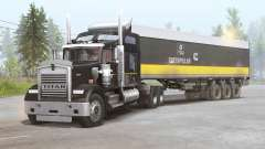 Kenworth W900 6x6 v1.4 pour Spin Tires