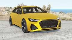 Audi RS 6 Avant (C8) 2019 v2.1 pour BeamNG Drive