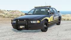 Gavril Grand Marshall River Highway County Sheriff für BeamNG Drive