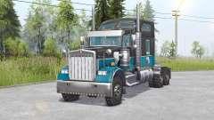 Kenworth W900 6x6 v1.1 für Spin Tires
