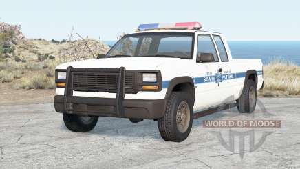 Gavril D-Series River Highway State Patrol pour BeamNG Drive