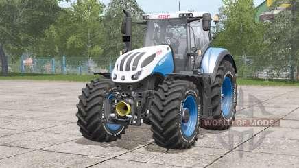 Steyr Terrus 6000 CVT〡Irnschrift in weiß für Farming Simulator 2017