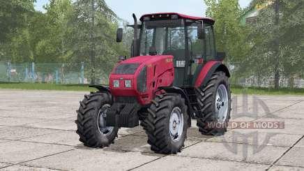 MTZ-1523 Biélorussie〡abilité de choisir des roues pour Farming Simulator 2017