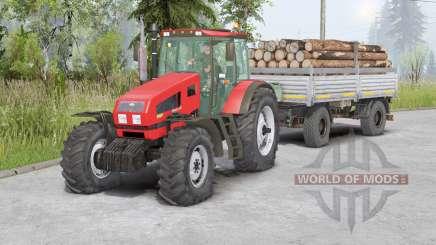 MTZ-1523 Belarus〡bewegliche Vorderachse für Spin Tires