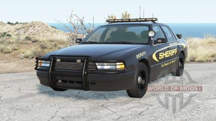 Gavril Grand Marshall Sandy Mountain Sheriff pour BeamNG Drive