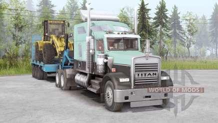 Kenworth W900 6x4 für Spin Tires