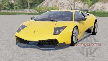 Lamborghini Murcielago LP 670-4 SuperVeloce 2009 pour Farming Simulator 2017