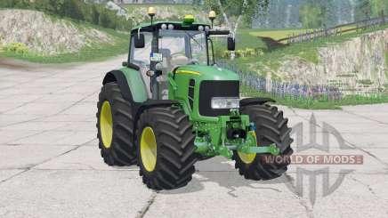 John Deere 7530 Premiuꬺ für Farming Simulator 2015