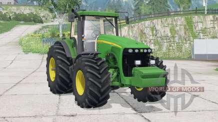 John Deere 8520〡extra poids pour Farming Simulator 2015