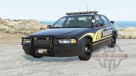Gavril Grand Marshall River Highway County Sheriff pour BeamNG Drive